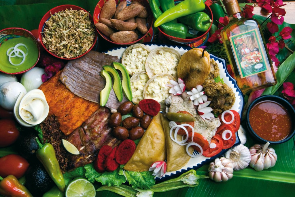 Gastronomic routes mexico boutique hotels for Ingredientes para comida