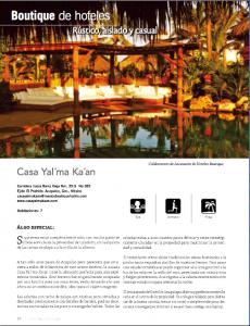Boutique de Hoteles Casa Yal'maka'an