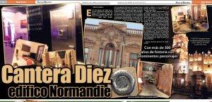 Diario de queretaro Cantera Diez edificio normandie