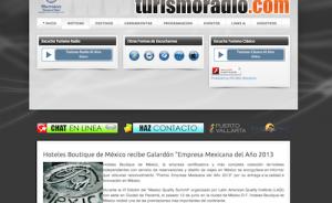 Turismoradio Hoteles Boutique de Mexico recibe el galardon empresa mexicana del año