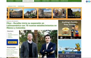 Fitur.- Ruralka inicia su expansión en Latinoamérica con 70 nuevos establecimientos en México y Colombia
