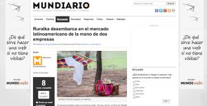 Mundiario Ruralka desembarca en el mercado latinoamericano de la mano de dos empresas