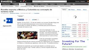 Ruralka exporta a México y Colombia Investing