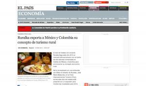 Ruralka exporta a México y Colombia su concepto de turismo rural