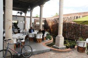 Terrace dinning area