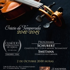 Cena Sibarita y Concierto Clásico