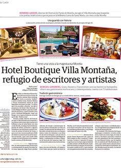 Hotel Boutique Villa Montaña, refugio de escritores y artístas