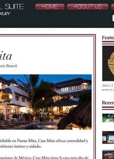 Casa de Mita – Presidential Suite Travel & Luxury