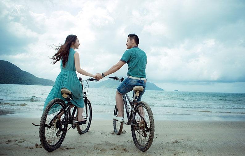 Ejercitarse en pareja, una romántica y saludable opción