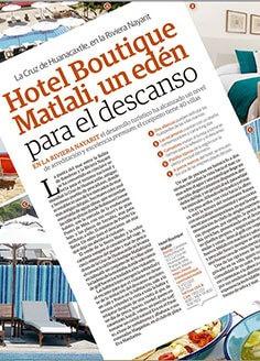 Hotel Boutique Matlali, un edén para el descanso