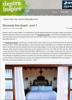 Hacienda San Angel – part 1