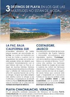 3 destinos de playa en los que las multitudes no están de moda – Travelier Edición 41