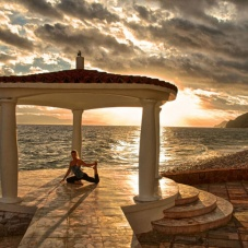 Travels and Yoga, excellent combination