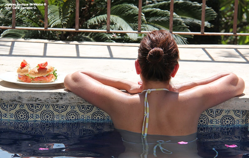 HOT hotels, hearing in the pools of Mexico Boutique Hotels