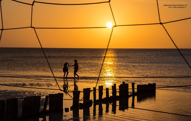 The most beautiful sunsets of Mexico Boutique Hotels