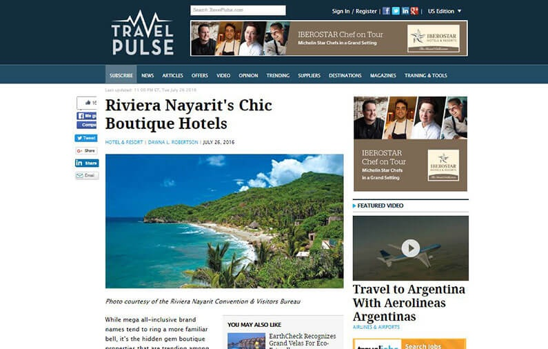 Riviera Nayarit's Chic Boutique Hotels