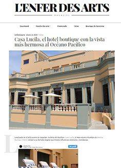 Casa Lucila, el hotel boutique con la vista más hermosa al Océano Pacífico