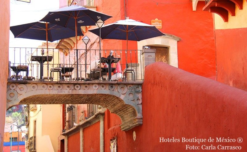Guanajuato hoteles boutique de mexico for Hotel boutique mexico
