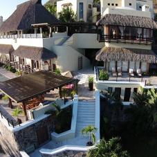 El confort y lujo de las Villas o Micro Resorts