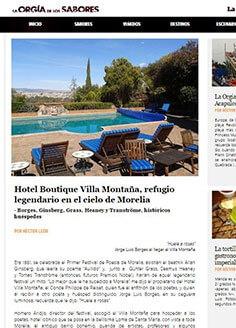 Hotel Boutique Villa Montaña, refugio legendario en el cielo de Morelia