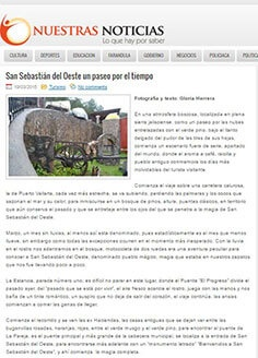 San Sebastián del Oeste un paseo por el tiempo