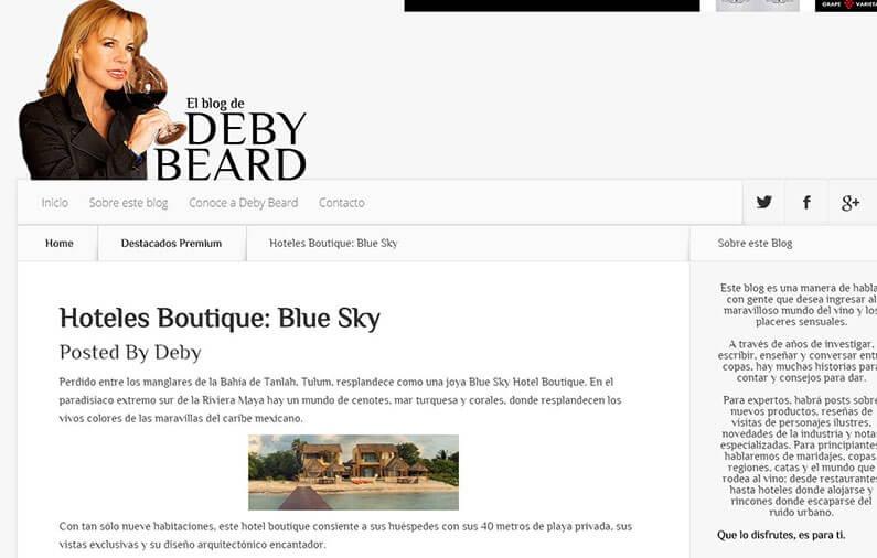 Hoteles Boutique: Blue Sky