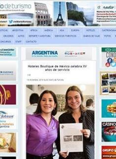 Hoteles Boutique de México celebra XV años de servicio