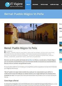Bernal: Pueblo Mágico Vs Peña