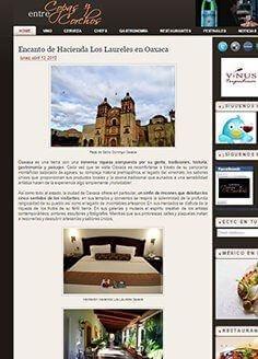 Encanto de Hacienda Los Laureles en Oaxaca