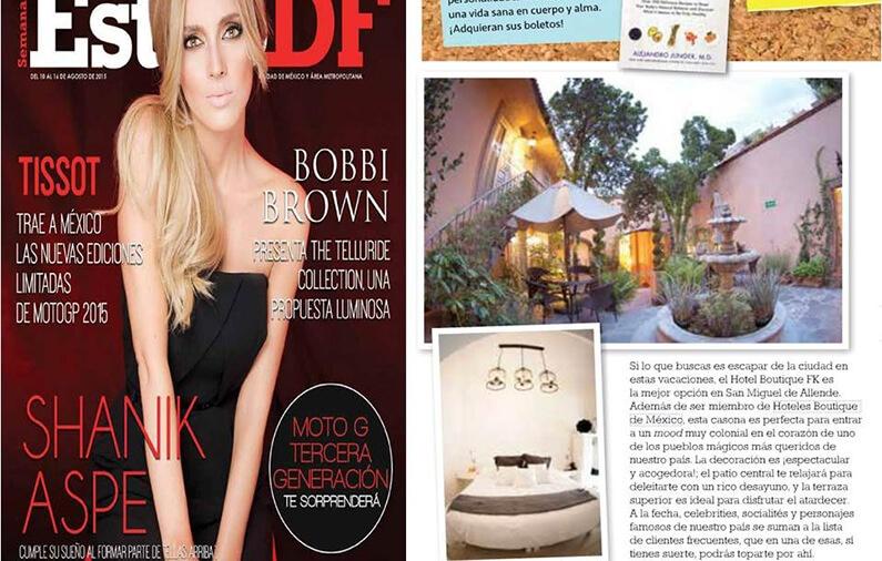 Los Highlights de la semana – Hotel FK en San Miguel de AllendeSi lo que buscas es escapar de la ciudad este fin de semana