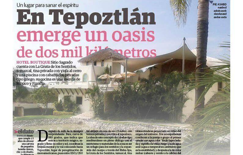 En Tepoztlán emerge un oasis de dos mil kilometros