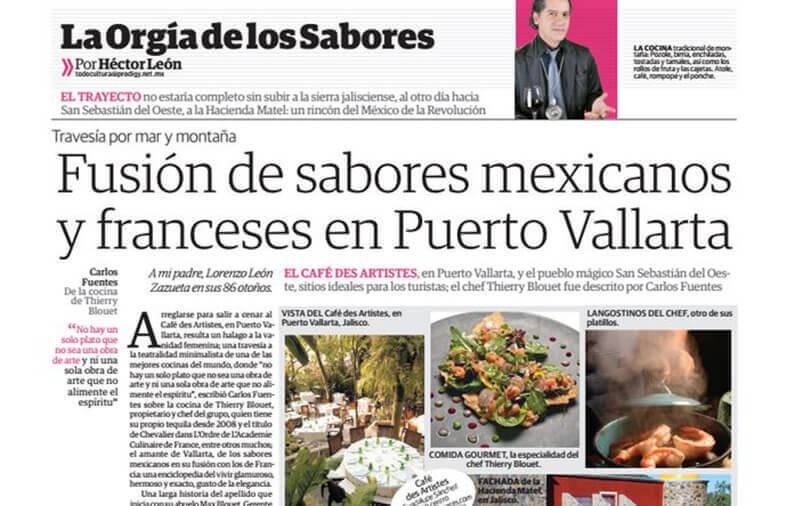 Fusión de sabores mexicanos  y franceses en Puerto Vallarta / Diario La Razón
