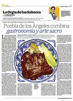 Puebla de los Ángeles combina gastromía y arte sacro