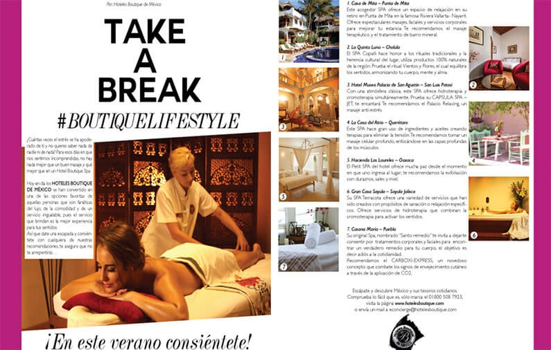 Take a Breake #Boutiquelifestyle