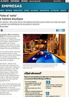 Falta el 'sello'  a hoteles boutique