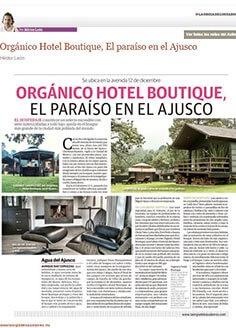 ORGÁNICO HOTEL BOUTIQUE, EL PARAÍSO EN EL AJUSCO