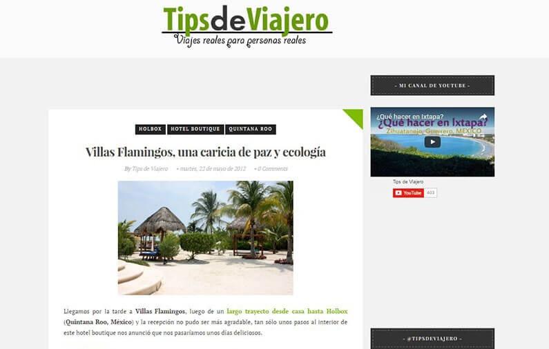 Villas Flamingos, una caricia de paz y ecología