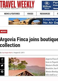 Argovia Finca joins boutique hotel collection