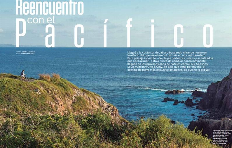 Reencuentro con el Pacífico – Las Alamandas