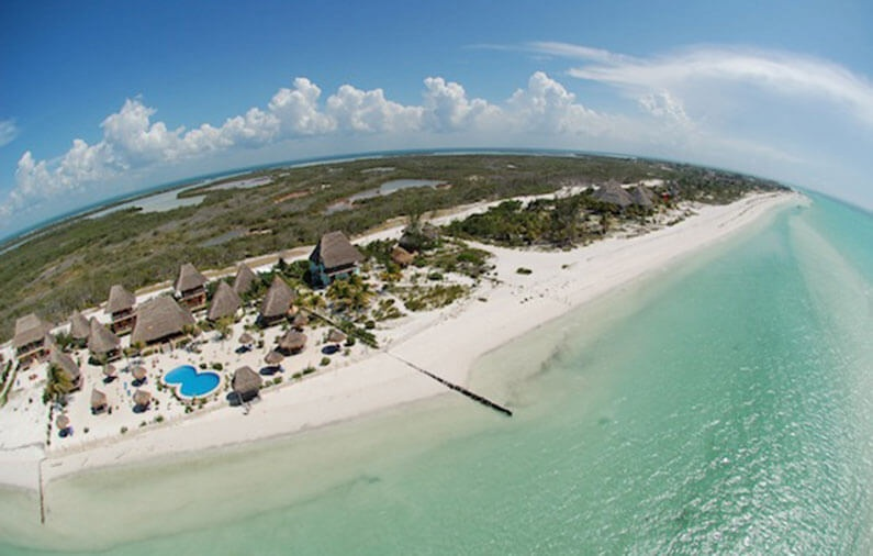 Top 7 spectacular aerial photographs of Mexico Boutique Hotels