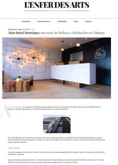 Alou Hotel Boutique: un oasis de belleza y distinción en Tijuana