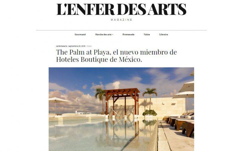 The Palm at Playa, el nuevo miembro de Hoteles Boutique de México.