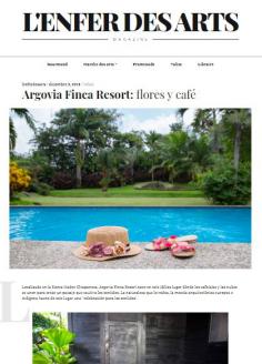 Argovia Finca Resort: flores y café