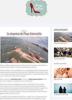 La sorpresa de Playa Esmeralda