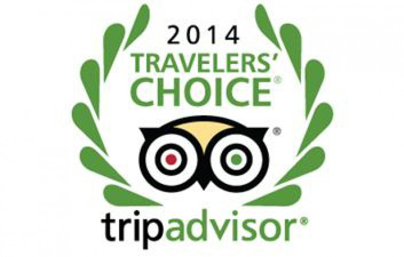 La Casa del Atrio Traveler's Choice 2014