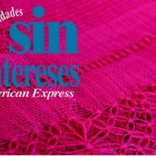 Meses sin interéses – American Express