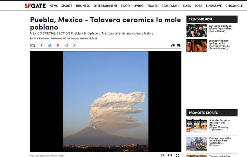 Puebla, Mexico – Talavera ceramics to mole poblano