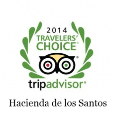 Hacienda de los Santos Traveler's Choice 2014
