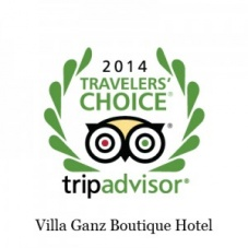 Villa Ganz Traveler's Choice 2014