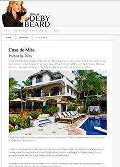 El Blog de Deby Beard – Casa de Mita